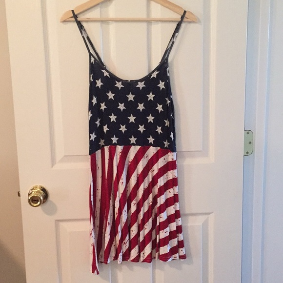 c97d363ad22 Cloud Chaser Dresses | American Flag Jerseyknit Dress | Poshmark